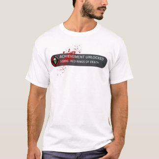 Achievement Unlocked Red Rings Of Death T-Shirt