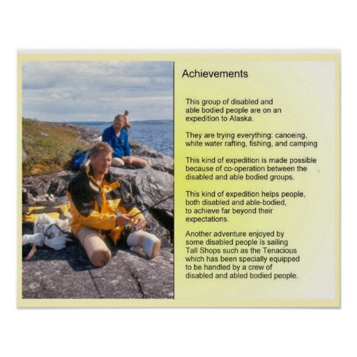 AChievements - working together Print