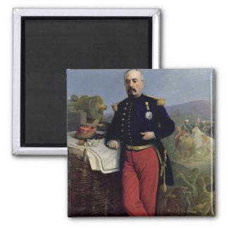 Achille Bazaine  1867 Square Magnet