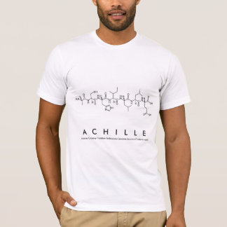 Achille peptide name shirt