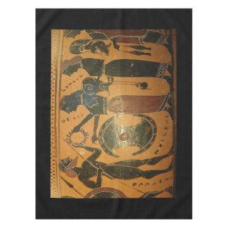 achilles armor tablecloth