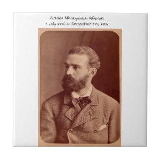 Achilles Nikolayevich Alferaki Ceramic Tile