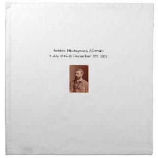 Achilles Nikolayevich Alferaki Napkin