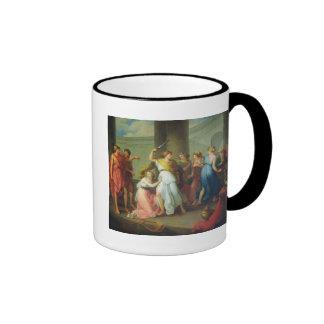 Achilles recognised, 1799 coffee mug