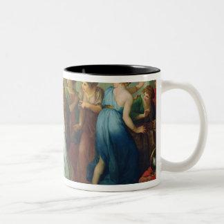Achilles recognised, 1799 Two-Tone mug