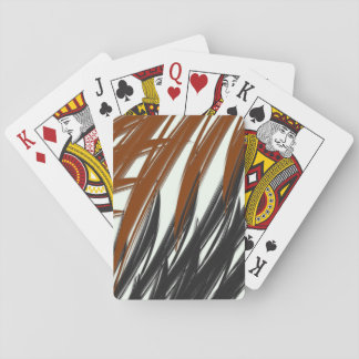Achromatic Jungle Playing Cards