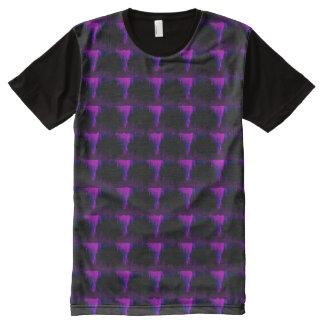 Acid All-Over Print T-Shirt
