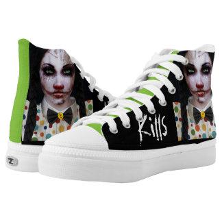 """Acid Annie (Love Kills)"" Shoes Printed Shoes"