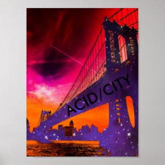 ACID/CITY Poster