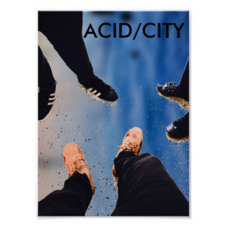 ACID/CITY(Poster)(JES) Poster