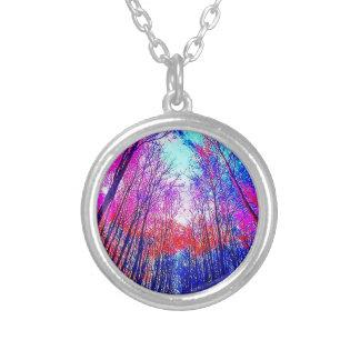 Acid Forest Round Necklace