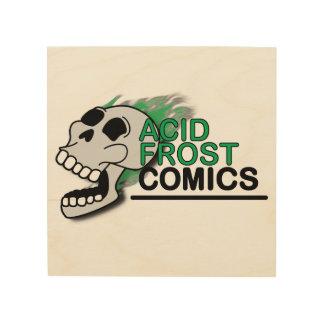 "Acid Frost Comics 8""x8"" Wood Wall Art"