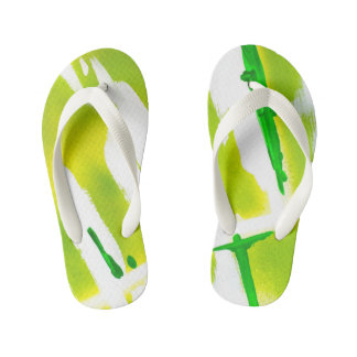 Acid Spring Colors Kid's Thongs