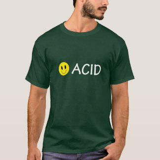 Acid Techno Smiley T-shirt