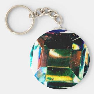 Acid trip gem keychain