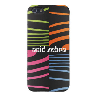 Acid Zebra iPhone Case iPhone 5/5S Cases
