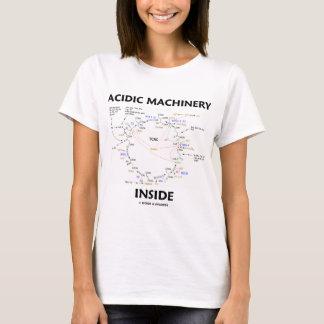 Acidic Machinery Inside (Krebs Citric Acid Cycle) T-Shirt
