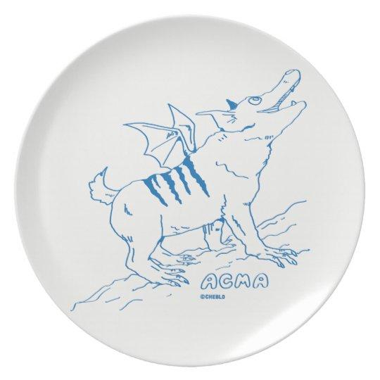 ACMA Plate < WHITE >