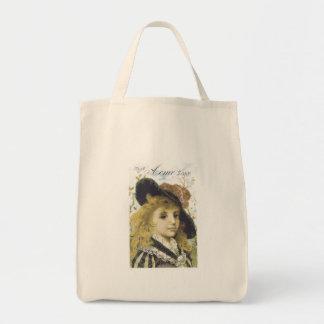 Acme Soap Blonde Girl Tote Bag