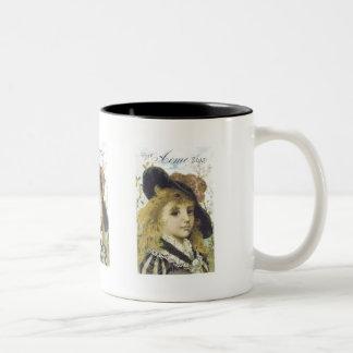 Acme Soap Blonde Girl Two-Tone Coffee Mug