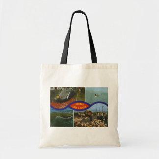 Acores Caca A Baleia, Vintage Tote Bags