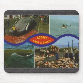 Acores Caca A Baleia, Vintage Mousepad