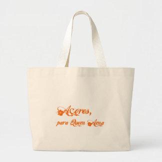 Açores é para quem ama canvas bag