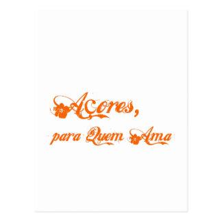 Açores é para quem ama postcard