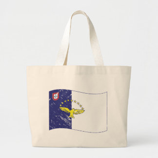Acores flag canvas bag