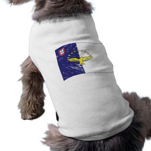 Acores flag doggie t-shirt