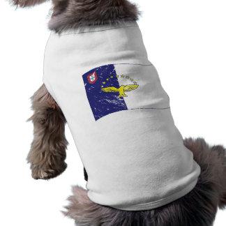 Acores flag sleeveless dog shirt