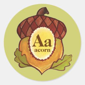 Acorn A Mighty Oak in Progress Sticker