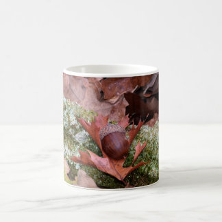 Acorn and Oak Leaf Beverage Mug