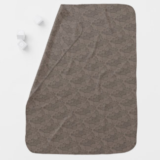 Acorn Branch Line Art Design Pram blanket