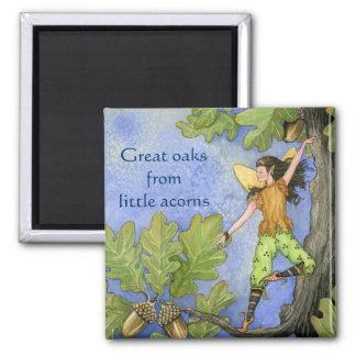 Acorn Fairy magnet