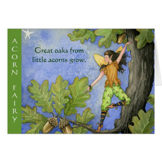 Acorn Fairy notecard