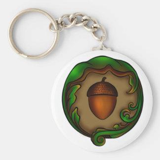 acorn key ring