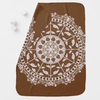 Acorn Mandala Baby Blanket