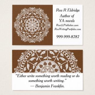 Acorn Mandala Business Card