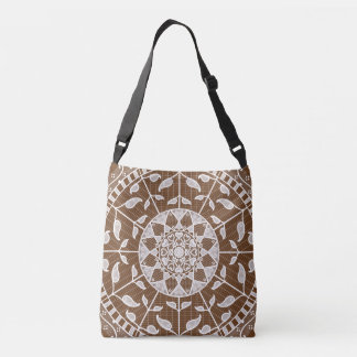 Acorn Mandala Crossbody Bag