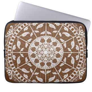 Acorn Mandala Laptop Sleeve