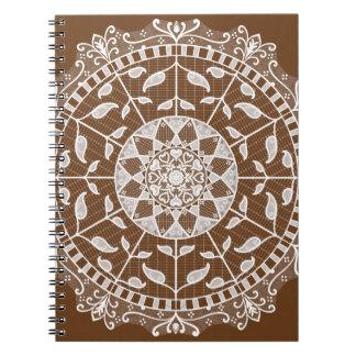 Acorn Mandala Notebook