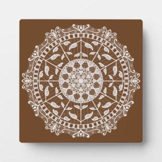 Acorn Mandala Plaque