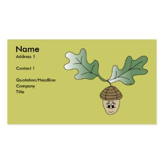 Acorn Profile Card Business Card