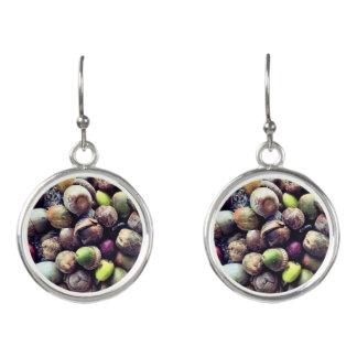 Acorn Salad Earrings