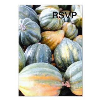Acorn Squash 9 Cm X 13 Cm Invitation Card