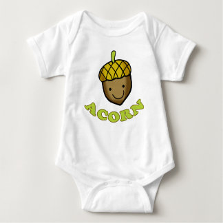 Acorn to Pair with Oak Tree for Fathers Day Baby Bodysuit