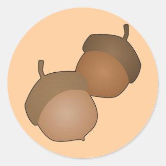 Acorns Stickers