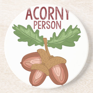 Acorny Person Coaster