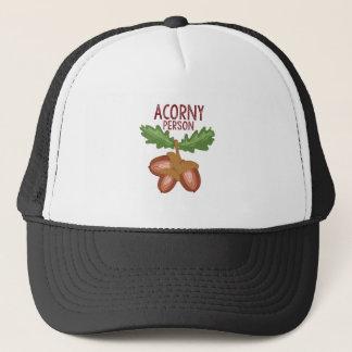 Acorny Person Trucker Hat